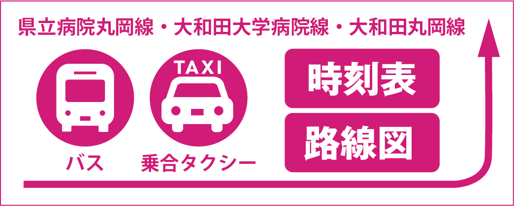 バス・タクシー路線図